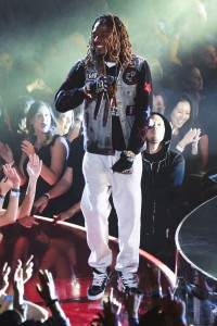INGLEWOOD, CALIFORNIA - APRIL 03: Rapper Fetty Wap performs onstage at the iHeartRadio Music Awards which broadcasted live on TBS, TNT, AND TRUTV from The Forum on April 3, 2016 in Inglewood, California. (Photo by Jason Kempin/Getty Images for iHeartRadio / Turner) *** Local Caption *** Fetty Wap